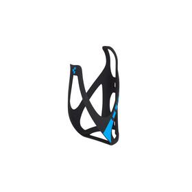 Cube HPP Flaschenhalter matt schwarz/blau